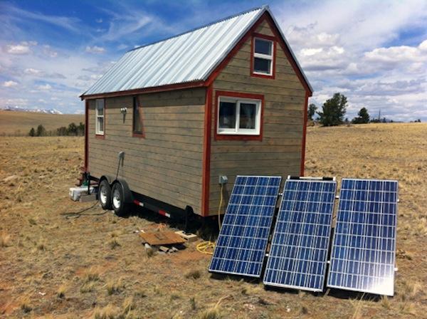 tiny house con energia solar