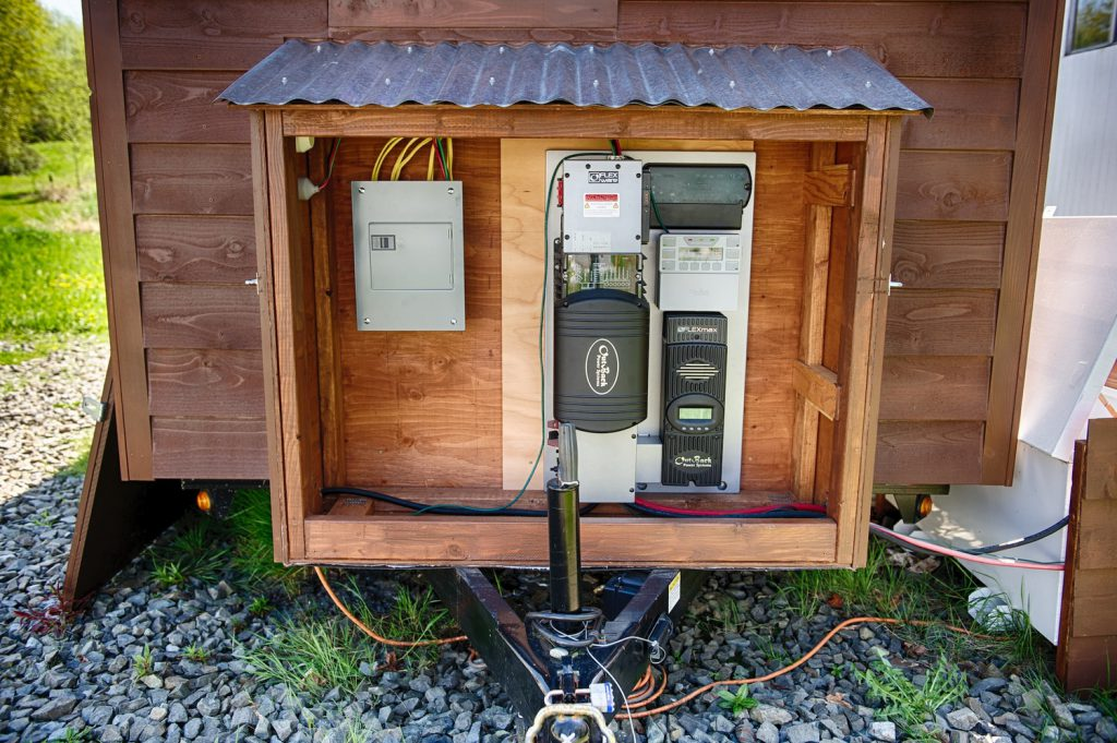tiny house y energia electrica