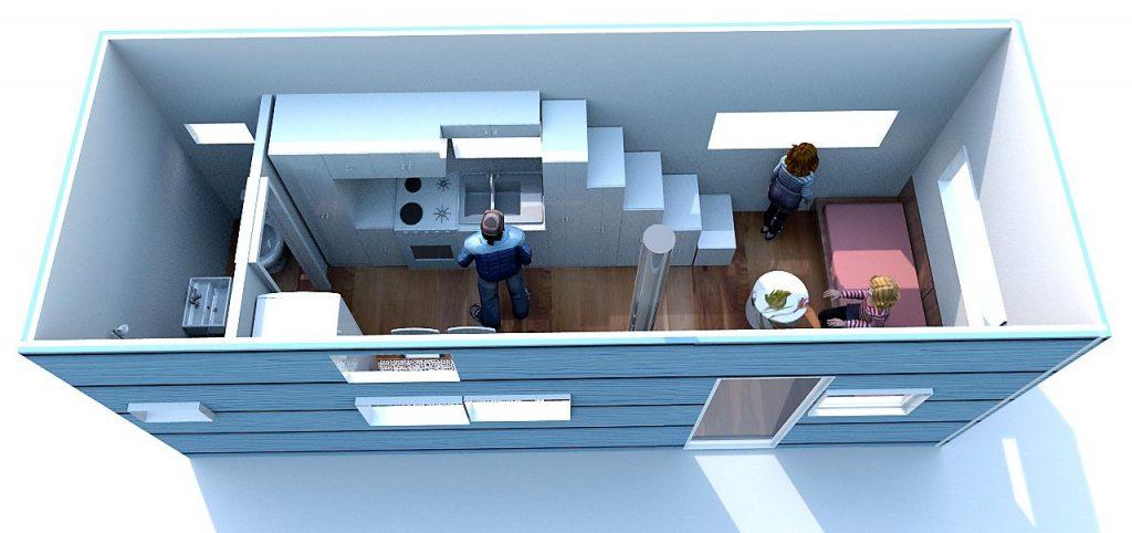 diseño tiny house
