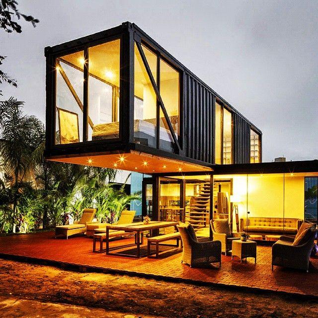 casa container planos