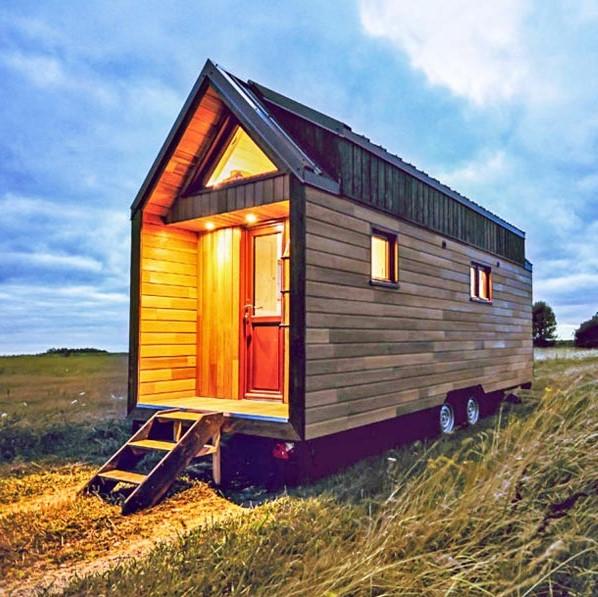 La bella tiny house Odyssee de Baluchon