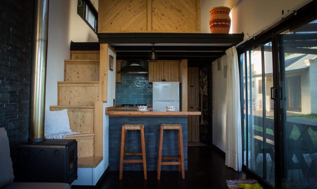 escalera tiny house