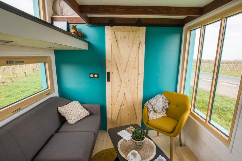 sala de estar tiny house