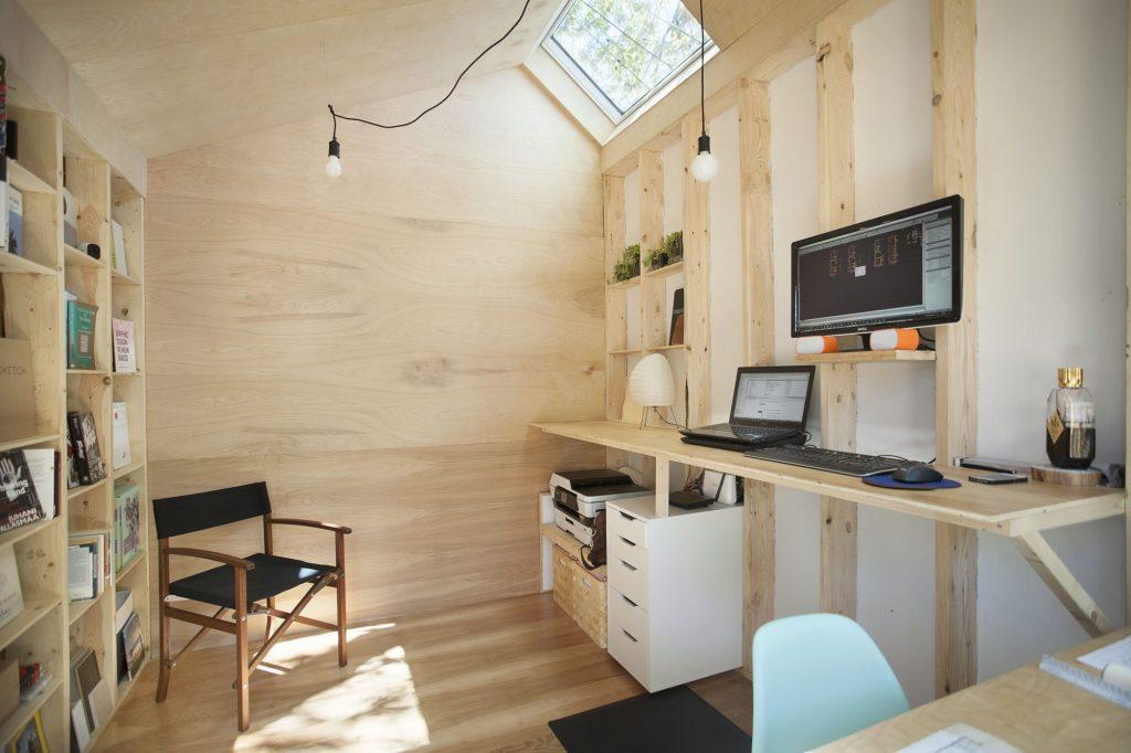 mini casa oficina