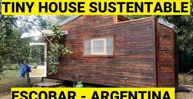 tiny house de madera