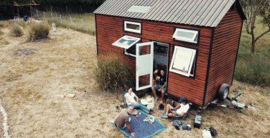 vivir en una mini casa